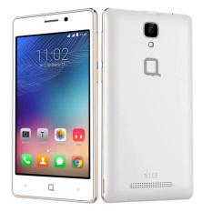 Ôn Tập Trên Q Mobile Q Nice 8Gb Trắng Viền Vang