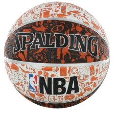 Hình ảnh Quả bóng rổ spalding NBA Graffiti số 7 (73-7222Z)