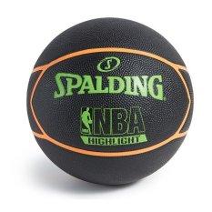 Hình ảnh Quả bóng rổ Spalding NBA High Light Red 73-904Z (size 7)