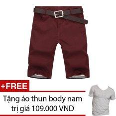 Giá Bán Quần Short Nam Kaki Tặng 1 Ao Thun Body Nam Trong Hồ Chí Minh