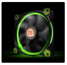 Hình ảnh Quạt cho vỏ máy vi tính Thermaltake Riing 12 LED Green