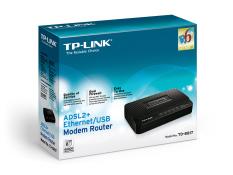 Hình ảnh Modem Tp link 8817 USB/Ethernet ADSL2 (Đen)