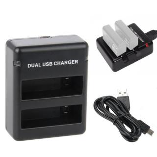 Sạc đôi cho GoPro Hero Dual Charger Hero 4 (Đen) thumbnail