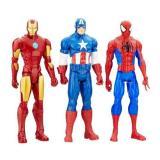 Mua Set 3 Nhan Vật Marvel Titan Hero Series Ironman Captain Spiderman Mới