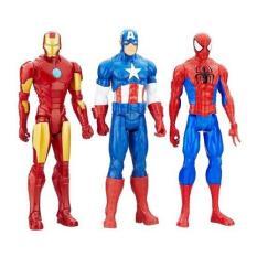 Bán Set 3 Nhan Vật Marvel Titan Hero Series Ironman Captain Spiderman Có Thương Hiệu Nguyên