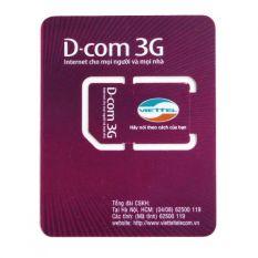 Giá Bán Sim 3G Viettel Tặng 7Gb Trong 12 Thang Tốt Nhất