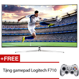 Giá Bán Smart Tivi Curve Led Samsung Suhd 78Inch 4K Model Ua78Ks9000Kxxv Đen Tặng Gamepad Logitech F710 Mới