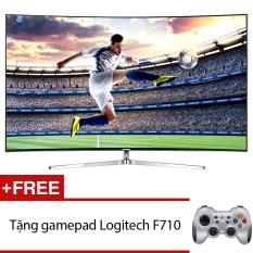 Smart Tivi Curve LED Samsung SUHD 78inch 4K – Model UA78KS9000KXXV (Đen) + Tặng gamepad Logitech F710 chính hãng