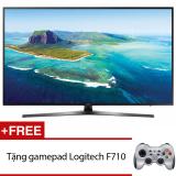 Ôn Tập Smart Tivi Led Samsung 43Inch 4K Model Ua43Ku6400Kxxv Đen Tặng Gamepad Logitech F710