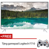 Mua Smart Tivi Led Samsung 55Inch 4K Model Ua55Ks7000Kxxv Đen Tặng Gamepad Logitech F710 Trực Tuyến