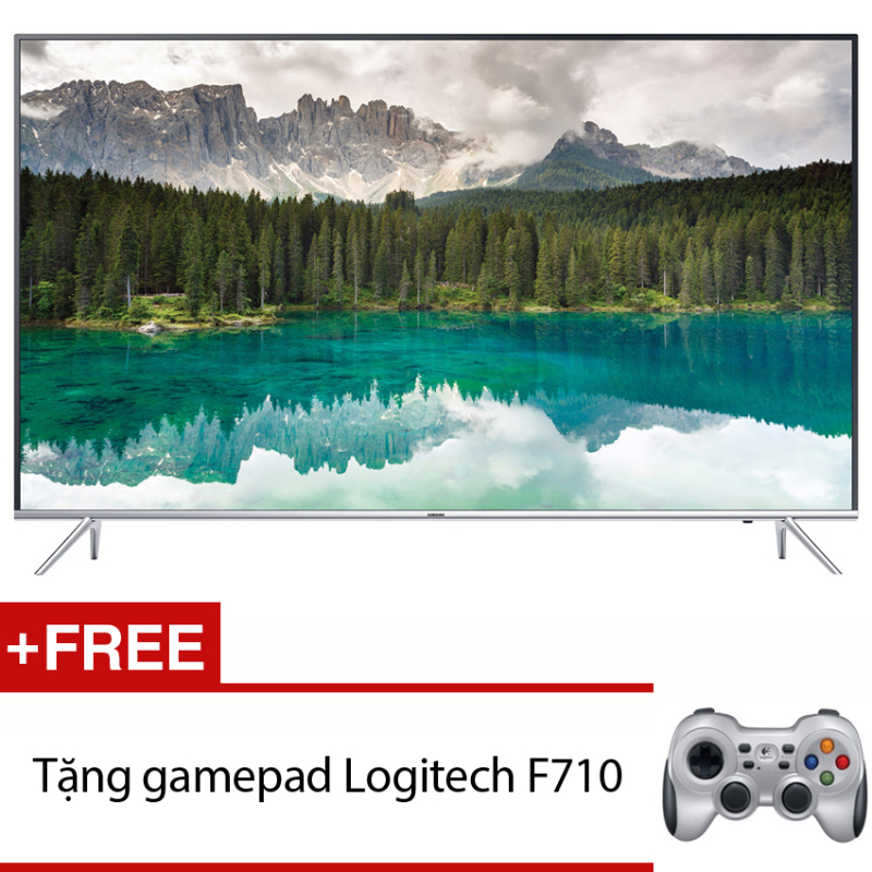 Smart Tivi LED Samsung 55inch 4K - Model UA55KS7000KXXV (Đen) + Tặng gamepad Logitech F710 chính hãng