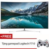 Bán Smart Tivi Man Hinh Cong 4K Suhd 65 Inch Model 65Ks9000 Đen Tặng Gamepad Logitech F710 Rẻ