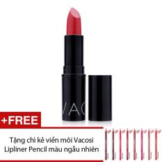 Mua Son Moi Vacosi Italy Lipstick Style Moisture Intense Color No 19 Sheer Red 3 4G Tặng Chi Kẻ Viền Moi Vacosi Lipliner Pencil Mau Sắc Ngẫu Nhien Trực Tuyến Vietnam