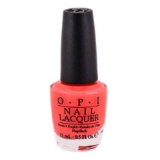 Sơn móng OPI - NL A44 Tasmanian Devil Made Me Do It 15ml (Orange, Red) tốt nhất