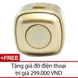 Tai Nghe Bluetooth Mini Nv V4 Đồng Tặng 1 Gia Đỡ Điện Thoại Nguyên