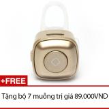 Giá Bán Tai Nghe Bluetooth Mini Nv V4 Đồng Tặng Bộ 7 Muỗng Mới