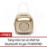 Bán Tai Nghe Bluetooth Mini Nv V4 Đồng Tặng Moc Tai Va Nhet Tai Bluetooth Rẻ Nhất