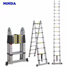 Thang nhôm rút gọn chữ A đa năng Ninda ND-56AI