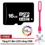 Ôn Tập Thẻ Nhớ 16Gb Micro Sdhc C4 Tặng Đen Led Usb Oem Trong Hồ Chí Minh