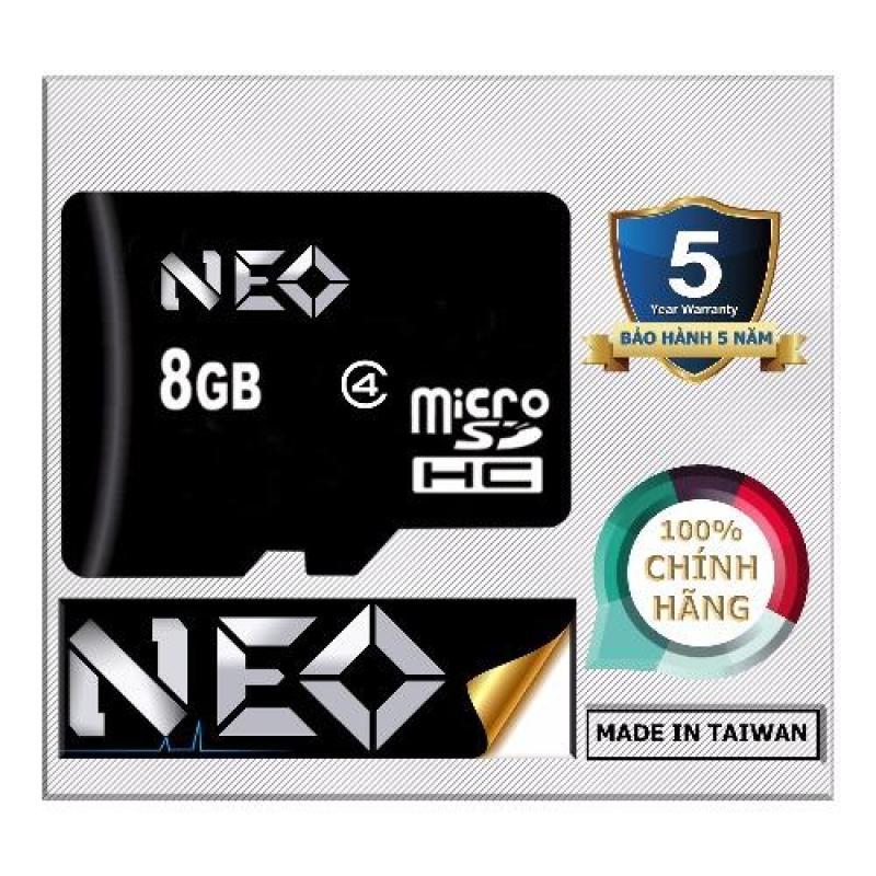 Thẻ nhớ 8GB NEO micro SDHC - Hãng phân phối chính thức