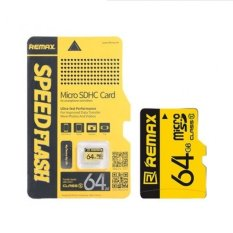 Thẻ nhớ micro SD Remax 64GB (Vàng)