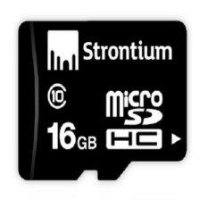 Thẻ nhớ Micro SD Strontium 16GB Class 10 (Đen)