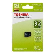 Giá Bán Thẻ Nhớ Microsd Toshiba 32Gb Toshiba