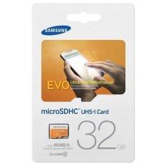 Bán Thẻ Nhớ Microsdhc Samsung Evo 48Mb S Class 10 32Gb Cam Trực Tuyến