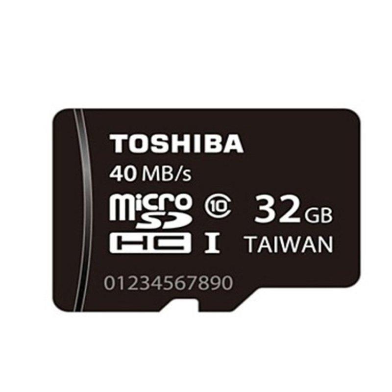 Thẻ nhớ Toshiba MicroSD Class 10 40MB/s 32G