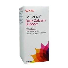 Giá Tiết Kiệm Khi Sở Hữu Thực Phẩm Chức Năng GNC WOMEN'S DAILY CALCIUM SUPPORT 90 Viên.