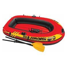 Ôn Tập Trên Thuyền Bơm Hơi Trẻ Em Intex 58357