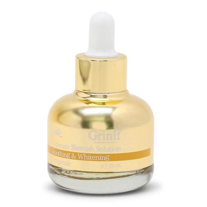 Tinh chất điều trị nám và dưỡng trắng da cao cấp Grinif Ultimate Blemish Solution Ampoule 30ml cao cấp