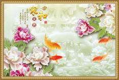 Bán Tranh Dan Tường 3D Khung Tranh Hoa Ngọc Vtc Lunawall 0237K Trực Tuyến Trong Hồ Chí Minh