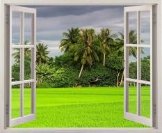 Chiết Khấu Tranh Dan Tường Cửa Sổ 3D Vtc Vt0019 Kt 150 X 100 Cm Vtc Hồ Chí Minh