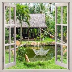 Tranh Dan Tường Cửa Sổ 3D Vtc Vt0092 Kt 110 X 90 Cm Hồ Chí Minh Chiết Khấu 50