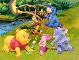 Cửa Hàng Tranh Dan Tường Gáu Pooh Trang Trí Phòng Cho Bé Vtc Lunate 0010 Rẻ Nhất