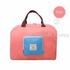 Túi Du Lịch Gấp Gọn Shopper Bag (Hồng)