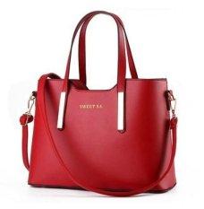 Giá Bán Tui Xach Nữ Kem Day Đeo Cao Cấp Le Tin Tx6969 26 2A Đỏ Letin Fashion Handbags