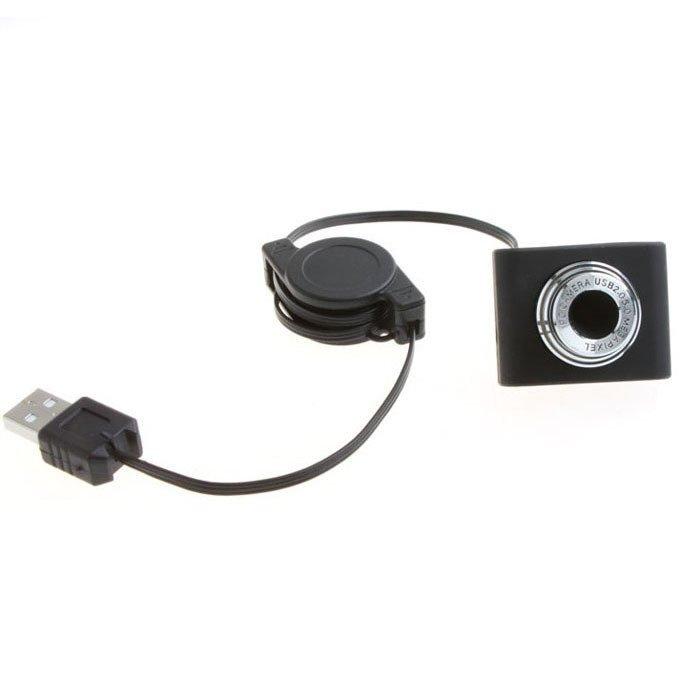 USB 2.0 50.0 m PC Camera HD Webcam cho Laptop Máy Tính Để Bàn Đen - 2