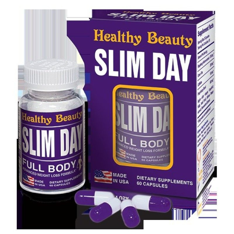 Viên giảm cân ban ngày Slim Day cao cấp