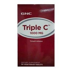 Viên Uống Bổ Sung Vitamin C GNC TRIPLE C 1000Chai 90 Viên Giá Ưu Đãi Nhất