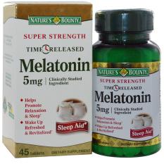 Vien Uống Hỗ Trợ Điều Hoa Giấc Ngủ Nature S Bounty Super Strength Melatonin 60 Vien Natures Bounty Chiết Khấu