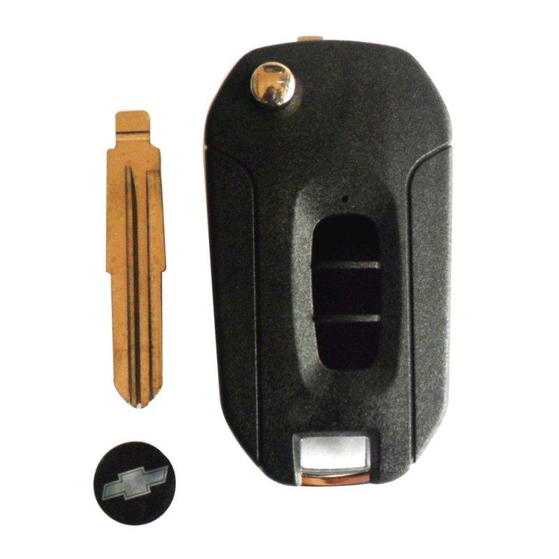 Vỏ chìa khóa độ gập dành cho xe Captiva  AD32.FLIP Xe Toàn Cầu