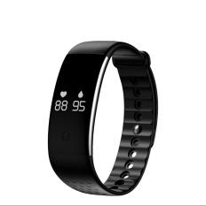 Hình ảnh Vòng đeo tay thông minh đo nhịp tim và nồng độ oxi trong máu B02 smart bracelet Heart Rate (đen)