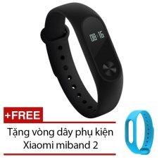 Giá Bán Vong Đeo Tay Xiaomi Miband 2 Đen Tặng Day Đeo Xiaomi Miband 2 Xanh Xiaomi Nguyên