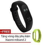Giá Bán Vong Đeo Tay Xiaomi Miband 2 Đen Tặng Day Đeo Xiaomi Miband 2 Xanh La Trực Tuyến Hồ Chí Minh