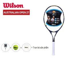 Mua Vợt Tennis Wilson Australian Open 27 Xanh Đen Phối Trắng Mới Nhất