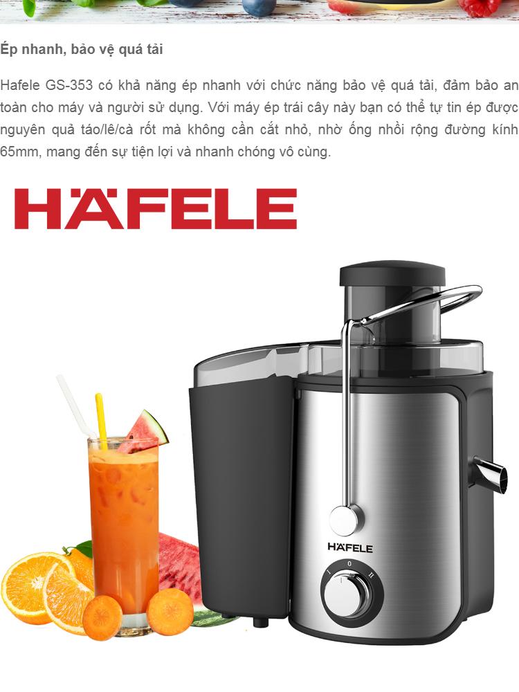 Máy ép trái cây Hafele GS-353 400W | Lazada.vn