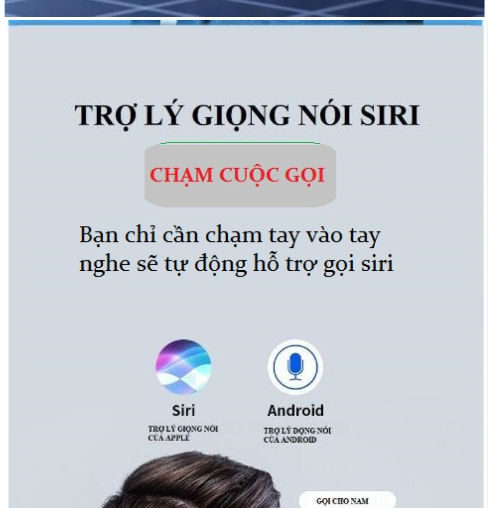Tai Nghe Bluetooth Amoi F9 Bản Pro Quốc Tế Chip 5.0 , Chống Nước , Nút Cảm Ứng - Tai Nghe Bluetooth Amoi F9, Tai Nghe Bluetooth Nhét Tai Cho mọi dòng máy - Tai nghe buetooth không dây 6