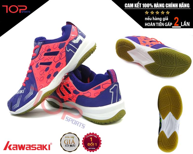 Giày Cầu Lông Kawasaki Nữ. Giày Thể Thao KAWASAKI Cao Cấp Dành Cho Nam & Nữ - Thương hiệu Thể thao nối tiếng đến từ NHẬT BẢN. Bảo hành 1 đổi 1.